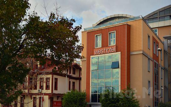 Wes Hotel İzmit'te Kara veya Deniz Manzaralı Odalarda Konaklama ve Kahvaltı Keyfi!