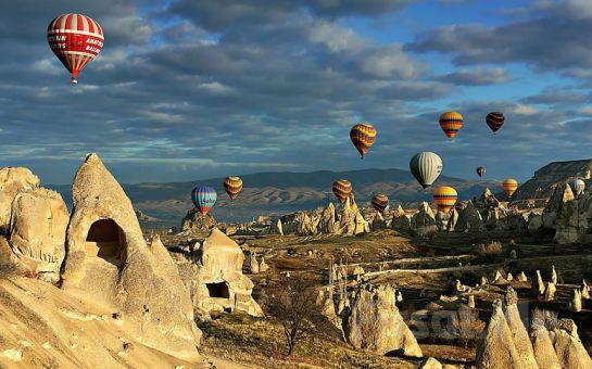 Kapadokya 5* Sühan Otel Konaklamalı, Balon Turu, Gidiş - Dönüş Uçak Bileti Dahil HAPPY NEW YEAR CAPPADOCIA YILBAŞI GALA PROGRAMI