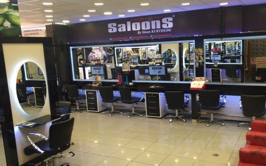 Kozyatağı SaloonS'da Erkeklere Özel Saç Kesimi ve Bakımı, Saç Şekillendirme, Manikür, Pedikür ya da Cilt Bakımı Fırsatı