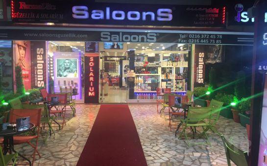 Kozyatağı SaloonS'da Erkeklere Özel Saç Kesimi ve Bakımı + Saç Şekillendirme + Manikür & Pedikür ya da Cilt Bakımı Fırsatı!