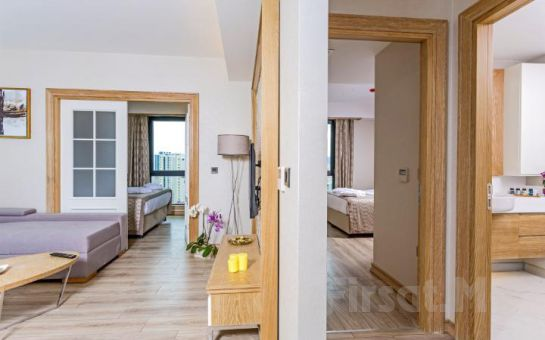 Bof Hotels Ceo Suite Ataşehir'in Suite Odalarında 2 Kişi 1 Gece Ev Konforunda Konaklama Keyfi