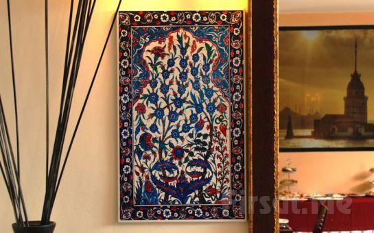 Panoramik Boğaz manzaralı Eternity Boutique Hotel Sultanahmet'de 2 Kişi 1 Gece Konaklama ve Kahvaltı Keyfi