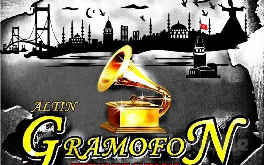 Rumeli Hisarı Altın Gramofon Restaurant'ta Muhteşem Boğaz Manzarası Eşliğinde Serpme Kahvaltı Keyfi