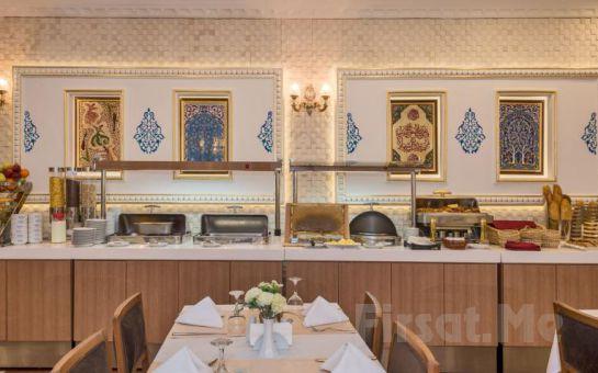 The Byzantium Hotel Sultanahmet'de Çift Kişilik Konaklama, Türk Hamamı ve Spa Keyfi!