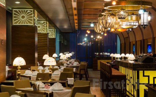 Ümraniye Rescate Hotel Asia'da Sevgililer Gününe Özel 2 Kişilik Gala Yemeği ve Konaklama Seçenekleri