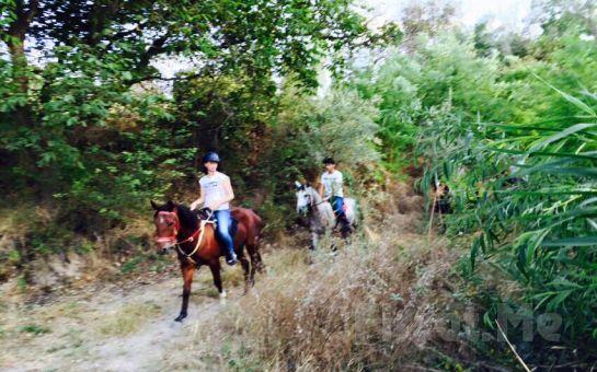 Aşkını At Üstünde Anlat Sarıyer Atlı Tur'dan 2 Kişi At Binme Keyfi