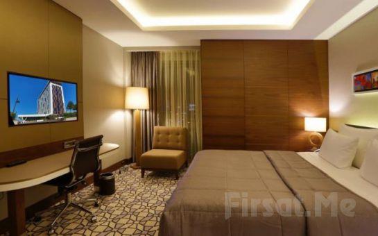 Steigenberger Airport Hotel İstanbul'da Konaklama, Akşam Yemeği, Spa Kullanımı ve Masaj Seçenekleri!
