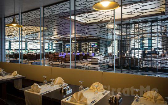 Steigenberger Airport Hotel İstanbul'da İçecek Dahil Leziz Akşam Yemeği