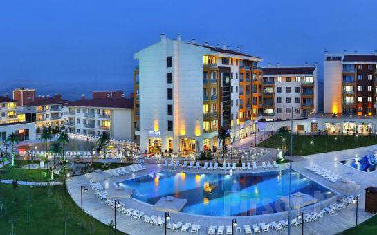 Ankara Hattuşa Vacation Thermal Club'ın Yarım Pansiyon Konaklama ve Termal Keyfi
