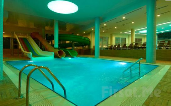 5 Yıldızlı Sandıklı Safran Thermal Resort Hotel'de Yarım Pansiyon Konaklama ve Termal Keyfi!