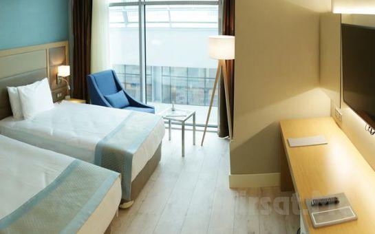 The Ankara Hotel Maltepe'de 2 Kişi 1 Gece Konaklama ve Kahvaltı Keyfi