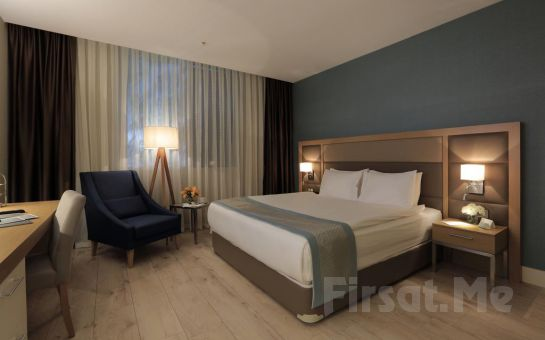 The Ankara Hotel Maltepe'de 2 Kişi 1 Gece Konaklama ve Kahvaltı Keyfi!