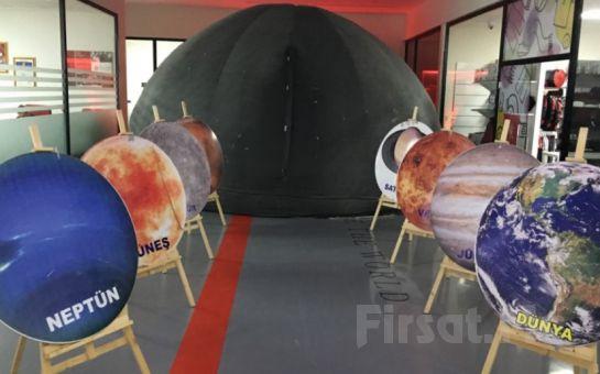 Matine Suare, Uluğbey Planetaryum'da 30 dakikalık Uzayda ve Mikro Alemde Seyahat Simülasyonu