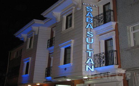 Sultanahmet Saba Sultan Hotel'de 2 Kişi 1 Gece Konaklama ve Kahvaltı keyfi