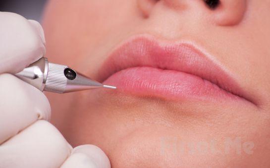 Kadıköy Davey Jones' Locker Tattoo Parlor'da Micropigmentasyon 3D Kıl Tekniği ile Kaş Kontürü, Eyeliner veya Dudak Kontürü