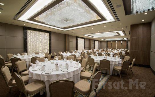 Haliç Clarion Hotel Golden Horn'da 2 Kişi 1 Gece Konaklama Keyfi!