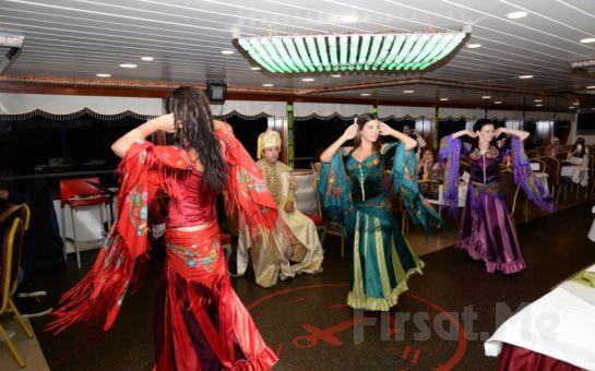 Bosphorus Organization'la Boğaz'da Evlilik Yıldönümü Kutlaması, İçecek Dahil Açık Büfe Akşam Yemeği ve Eğlence