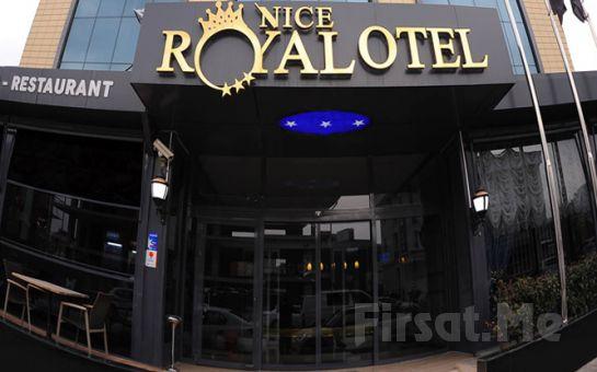 Ataşehir'in Merkezinde Nice Royal Otel'de 2 Kişilik Konaklama Keyfi!