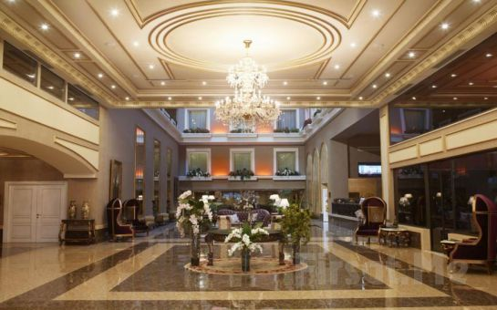 Beylikdüzü Euro Park Otel'de 2 Kişilik Konaklama ve Spa Keyfi