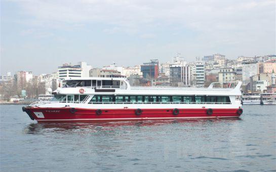 Bosphorus Organization'la Her Pazar 3 Saatlik Boğaz Turu ve Açık Büfe Kahvaltı Keyfi!
