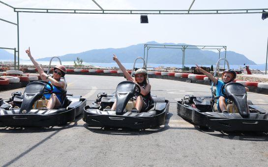 Marmaris'in En Büyük Açık Karting Pisti'nde Go Kart Keyfi
