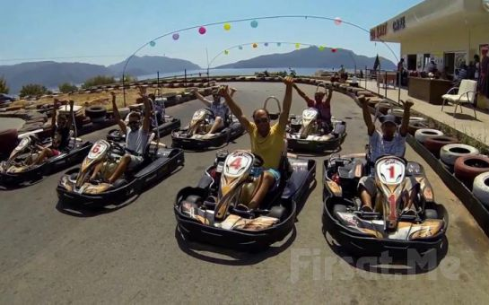 Marmaris'in En Büyük Açık Karting Pisti'nde Go Kart Keyfi!