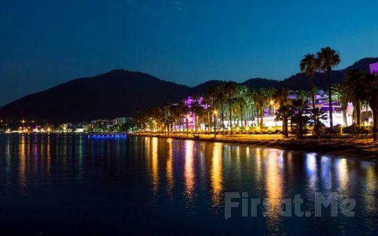 Marmaris'te Öğle Yemeği ve Sınırsız Yerli İçecekler Dahil Tekne Turu! (Akşam Yemeği dahil Moonlight Cruise Hediye!)