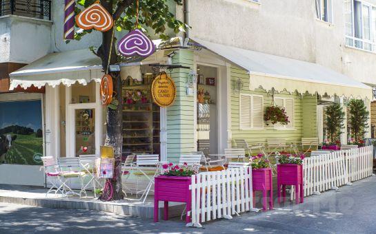 Büyükada Şekerçisi Candy Island'ın Rengarenk Bahçesinde Çikolata Workshopu