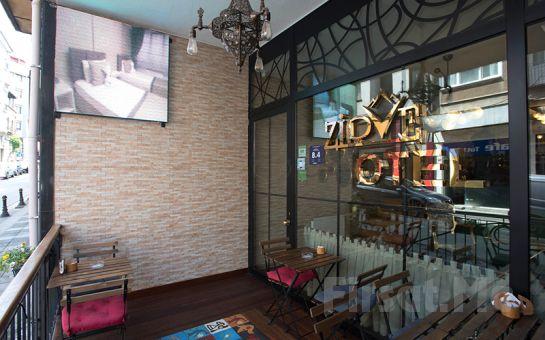 Kadıköy Zirve Otel'de Açık Büfe Kahvaltı Dahil Konaklama Keyfi!