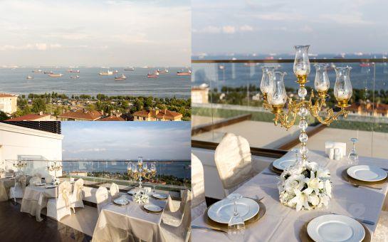 Adalar ve Deniz Manzaralı Kartal The Grand Mira Hotel'de Leziz İftar Menüsü