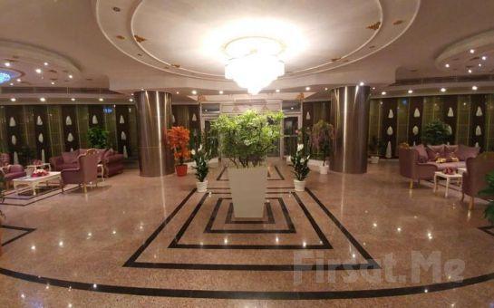 Etimesgut Laçin Park Otel'de Hamam ve Sauna Girişi Kese, Köpük Masaj Fırsatı