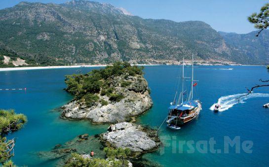 Karyada Gemicilik ve Yat Turizm'den 4 Gün 3 Gece Olympos- Fethiye Tekne Turu ve Tatil Keyfi