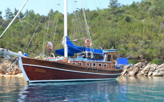 Karyada Gemicilik ve Yat Turizm'den 2 Günlük Bodrum - Bitez - Knidos Tekne Turu ve Tatil Keyfi