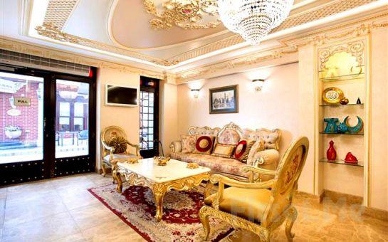 Sultanahmet'te Hotel Evsen'de 2 Kişi 1 Gece Kahvaltı Dahil Konaklama Keyfi