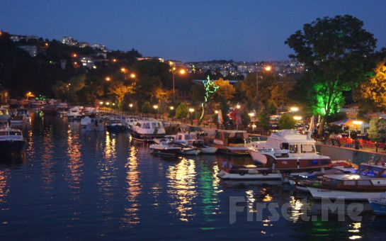 Anadoluhisarı Göksu Nehri Manzaralı Seria Marin Cafe, Restaurant'ta İftar Menüsü