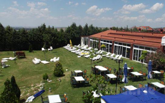 Silivri Erkanlı Tatil Köyü'nde, Serpme Kahvaltı, At Binme, Kapalı Havuz, Sauna, Jakuzi Kullanımı
