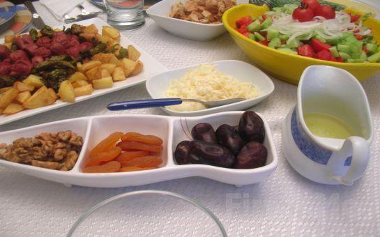 Mavinin ve Yeşilin Buluştuğu Şirinköy Sultanköy'de Ramazan İftar Yemeği Menüsü
