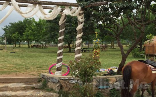 Polonezköy Cumhuriyetköy Keyf-i Mekan'da Muhteşem Doğa Manzarası Eşliğinde İftar Menüsü