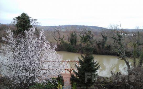 Nehir Manzaralı Ağva Vira Creek House Hotel'de İftar Keyfi ve Dere Bisikleti Kullanımı