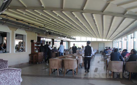 Merter Şelale Cafe'de Sahur Serpme Kahvaltı Menüsü