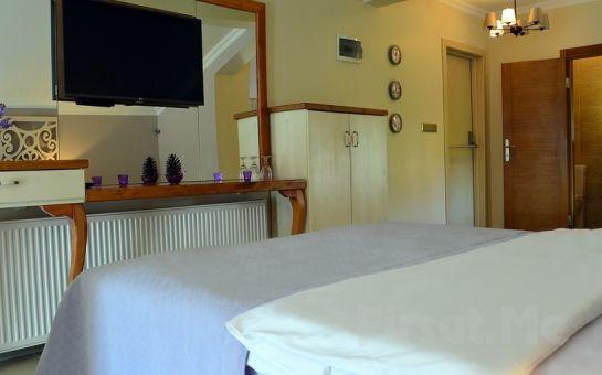 Ağva Nehir Kenarındaki Sweet Home River Hotel'in Şömineli ve Jakuzili Odalarında 2 Kişilik Konaklama Seçenekleri