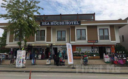 Ağva Sea House Hotel'de 2 Kişi 1 Gece Kahvaltı Dahil Konaklama Keyfi