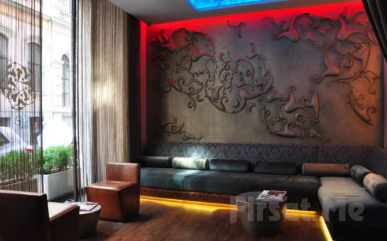 Beyoğlu Pera'da Tulip by Molton Hotels'de Standart Odalarda 2 Kişi 1 Gece Kahvaltı Dahil Konaklama Keyfi!