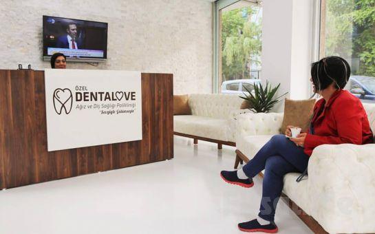 Bahçelievler Dentalove Ağız ve Diş Sağlığı'ndan Lazer ile Diş Beyazlatma İşlemi