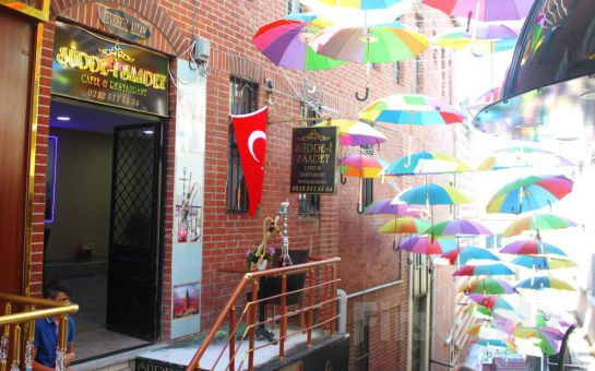 Süleymaniye Şehr-i Saadet Cafe'de Deniz Manzarası Eşliğinde Serpme Kahvaltı Keyfi