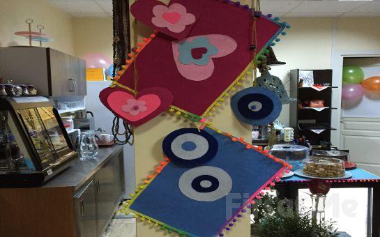 Leylifer Cafe Kartal'da Kek veya Kurabiye Eşliğinde Kahve keyfi! İsteyenlere Hint Kınası Dövme Hediye!