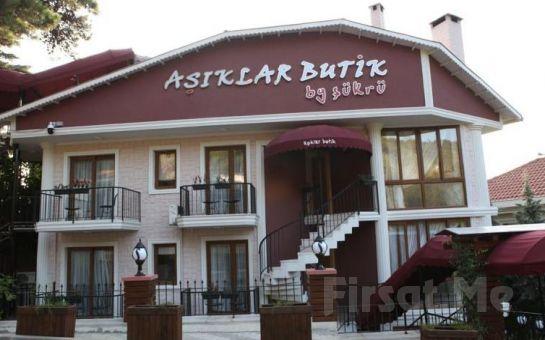 Ada Otellerinin Göz Bebeği, Büyükada Aşıklar Butik Otel'de 2 Kişi 1 Gece Kahvaltı Dahil Konaklama Keyfi
