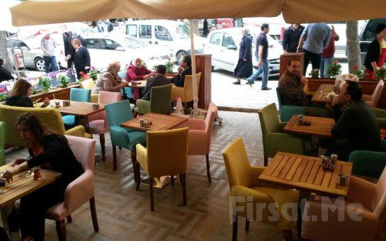 Demetevler Keyfimin Kahvesi'nde Sınırsız Çay Eşliğinde 2 Kişilik Leziz Köy Kahvaltısı ve Türk Kahvesi Keyfi