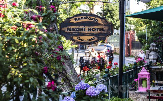 Tarihi Meziki Köşkü Bahçesinde Büyükada Anastasia Garden Cafe & Restaurant'ta Sınırsız Çay Eşliğinde Zengin içerikli Serpme Kahvaltı Keyfi