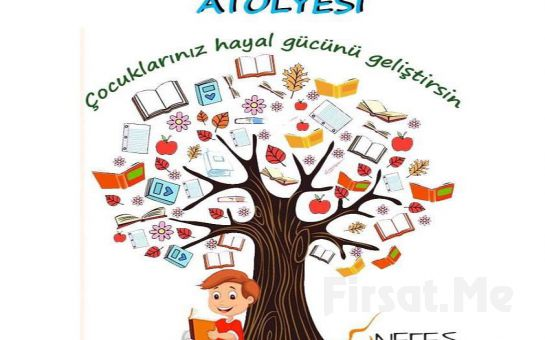 Ataşehir Nefes Sanat Merkezinden Çocuklarınız için 3 Aylık Drama, Sanat Tarihi, Yaratıcı Yazarlık Atölyesi veya Ritmik Oyun Grubu Dersleri